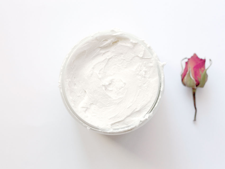 mousse exfoliante DIY